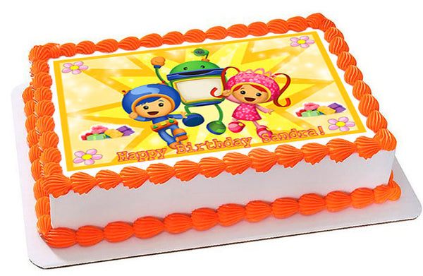 Team Umizoomi 2 Edible Cake And Cupcake Topper Prints On EPoC