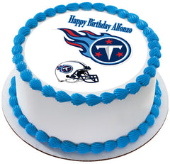 Tennessee Titans - Edible Cake Topper OR Cupcake Topper, Decor