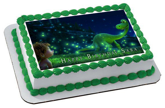 The Good Dinosaur Edible Cake Topper Edible Prints On