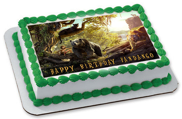 Edible Jungle Book Cake Toppers