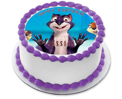 The Nut Job Movie 1 Edible Birthday Cake Topper OR Cupcake Topper, Decor