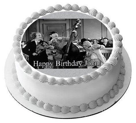 The Three Stooges 2 Edible Cake Topper Amp Cupcake Toppers
