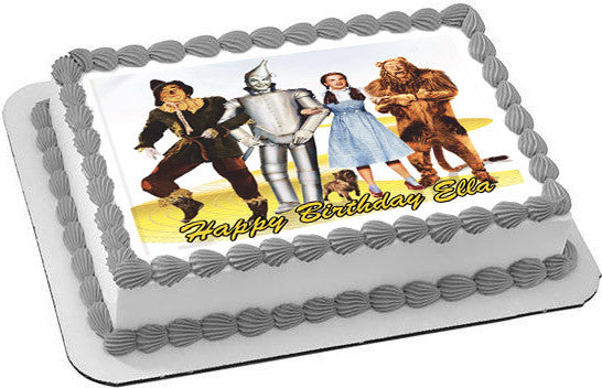 The Wizard Of Oz Edible Cake Topper Amp Cupcake Toppers