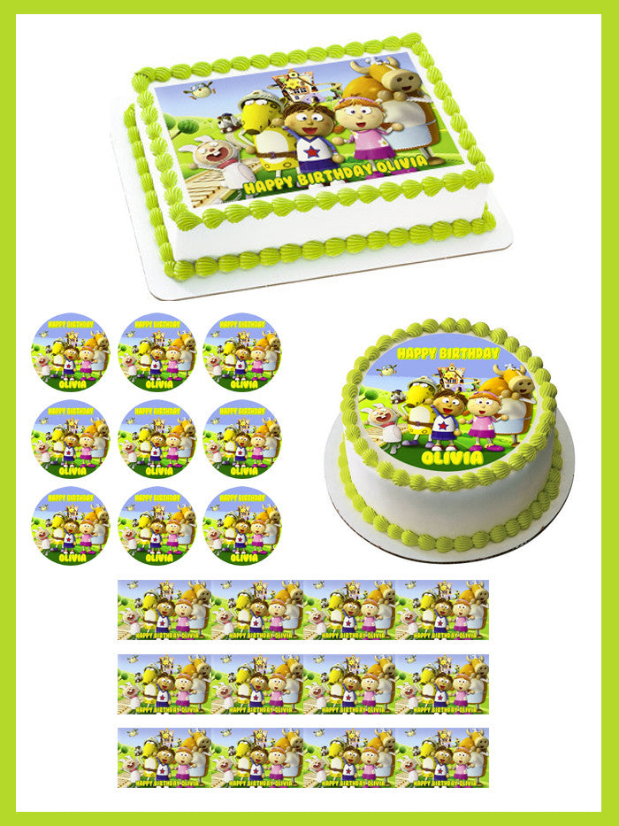 Tickety Toc Edible Cake Topper Cupcake Toppers Edible Prints On