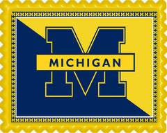 University of Michigan - Edible Cake Topper OR Cupcake Topper, Decor