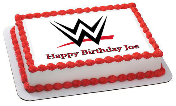 Wwe Edible Cake Topper Amp Cupcake Toppers Edible Prints