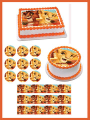 Lion King Kiara Edible Birthday Cake Topper OR Cupcake Topper, Decor - Edible Prints On Cake (Edible Cake &Cupcake Topper)