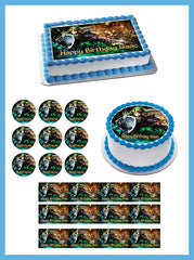 The legend of Zelda 2 Edible Birthday Cake Topper OR Cupcake Topper, Decor