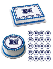 Newsome High School Time Edible Birthday Cake Topper OR Cupcake Topper, Decor - Edible Prints On Cake (Edible Cake &Cupcake Topper)