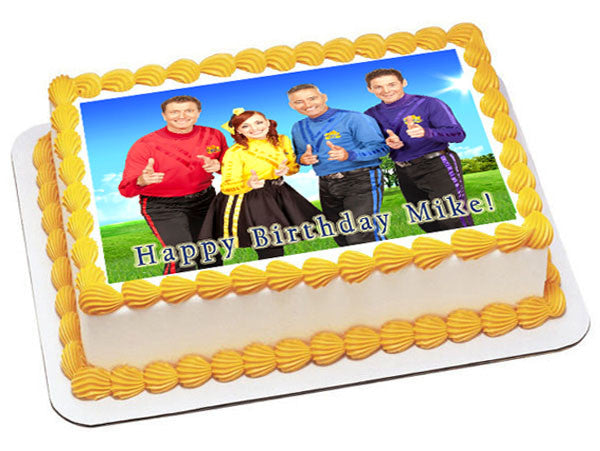 Wiggles Edible Cake Images