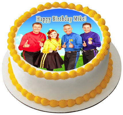 Wiggles New Edible Birthday Cake Or Cupcake Topper
