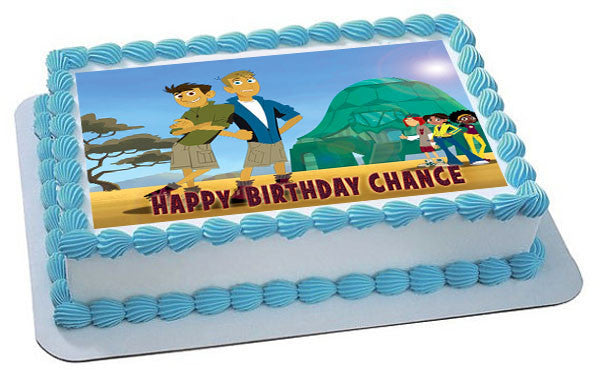 Wild-Kratts Characters Edible Cake OR Cupcake Topper ...