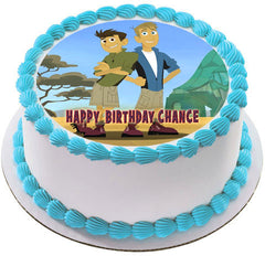 Wild Kratts Characters - Edible Cake Topper OR Cupcake Topper, Decor
