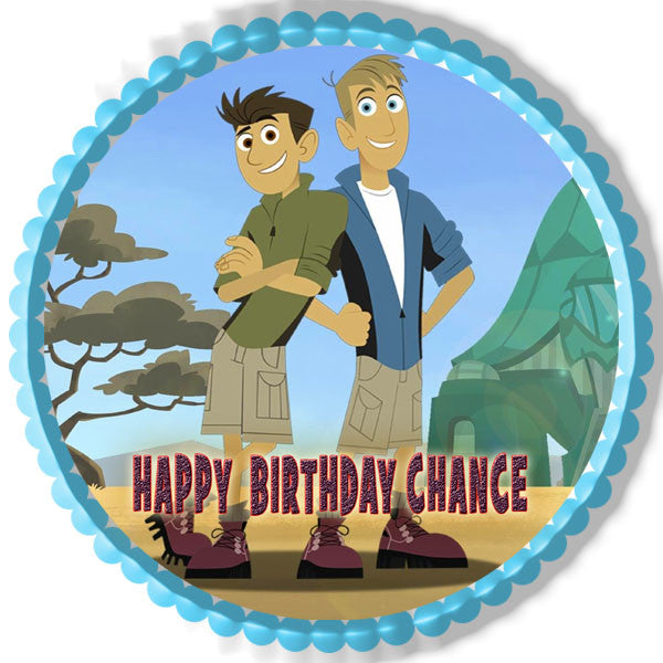 Wild Kratts Characters Edible Cake Or Cupcake Topper