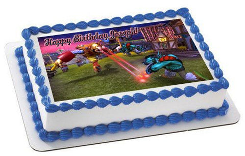 Skylander Giants 2 Edible Birthday Cake Topper OR Cupcake Topper, Decor