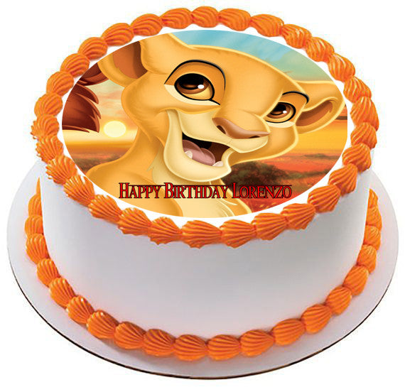 Lion King Kiara Edible Birthday Cake Or Cupcake Topper
