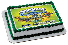 Skylander 3 Edible Birthday Cake Topper OR Cupcake Topper, Decor - Edible Prints On Cake (Edible Cake &Cupcake Topper)