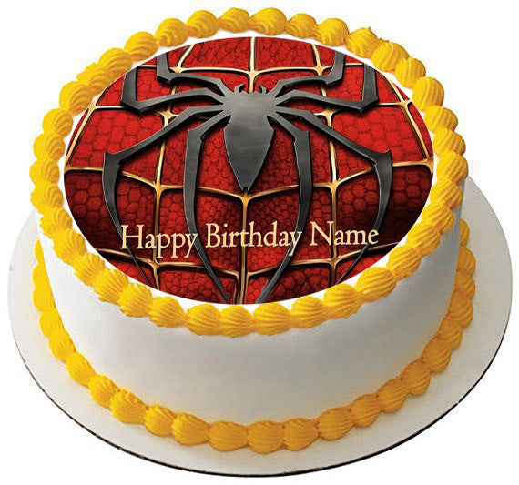 Spiderman 2 Edible Birthday Cake Or Cupcake Topper Edible Prints