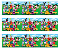 Mickey Mouse Clubhouse (Nr3) - Edible Cake Topper OR Cupcake Topper, Decor