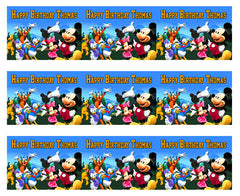 Mickey Mouse Clubhouse (Nr4) - Edible Cake Topper OR Cupcake Topper, Decor