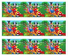Mickey Mouse Clubhouse Train - Edible Cake Topper OR Cupcake Topper, Decor