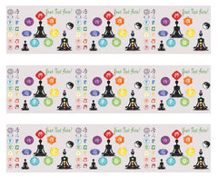 Chakra - Edible Cake Topper, Cupcake Toppers, Strips