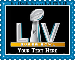 Super Bowl 2021 - Edible Cake Topper, Cupcake Toppers, Strips