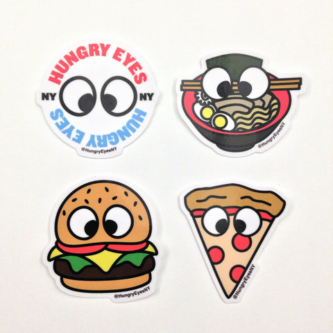 HungryEyesNY Sticker Pack