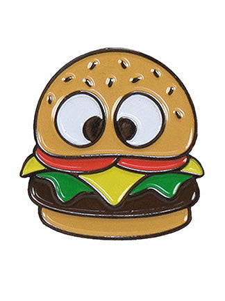 BURGER PIN by HungryEyesNY