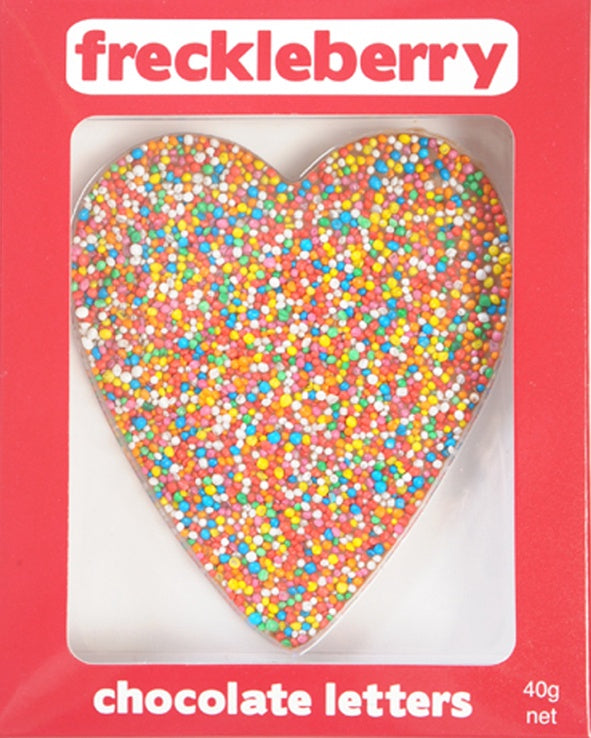 40g Freckle Chocolate Heart