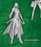 Anna Lovelace (Single Model) M3E From the Von Schtook Core Box