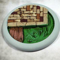 Scenic Bases: 50mm Sewer Works 02, Round Lip (1)