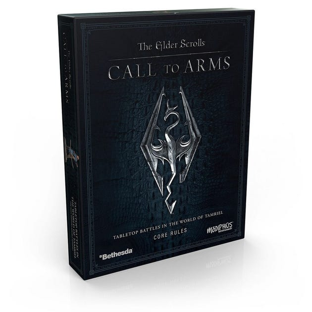 Elder Scrolls: Call To Arms Core Rules Set  MUH052029