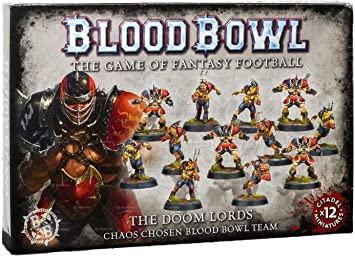 Blood Bowl: The Doom Lords Chaos Chosen Blood Bowl Team
