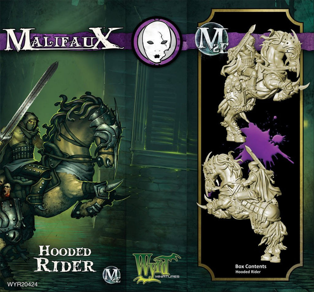 Hooded Rider M2E WYR20424 With Attached M3E Card