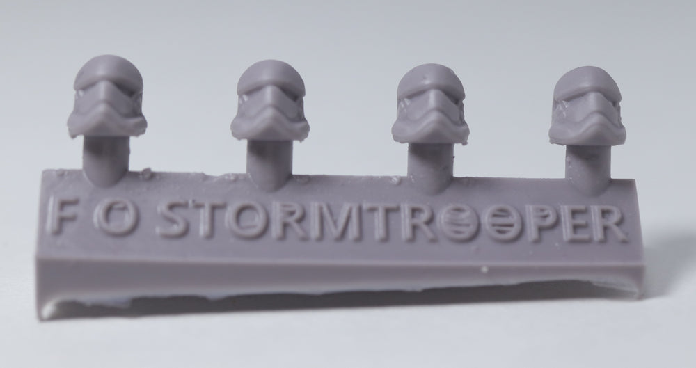 FO Stormtroopers (4 Heads) - Custom Alien Heads for SW: Legion