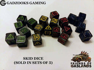 Gaslands Skid Dice