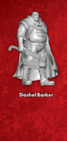 Dashel Barker - Single Model From the Dashel Core Box - Malifaux M3E WYR23103