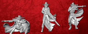 Rifleman - 3 Models From the Riflemen of the Dashel Core Box - Malifaux M3E WYR23103