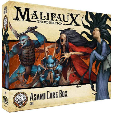Asami Core Box M3E (Box of 6 Miniatures)