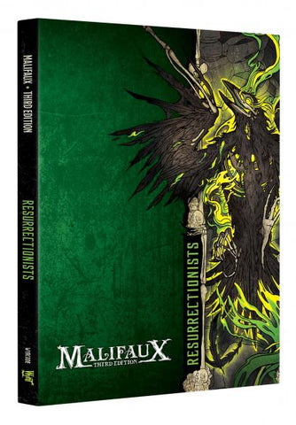 Malifaux (M3E): Resurrectionist Faction Book (Expected September 2019 Release)