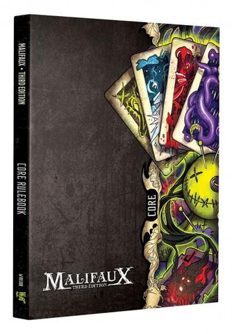 Malifaux (M3E) Core Rulebook - Third Edition Rules