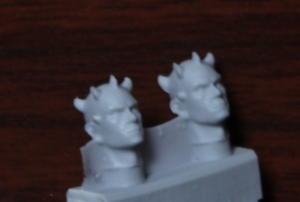 Mal - New Mold Style (4 Heads) - Custom Alien Heads for SW: Legion
