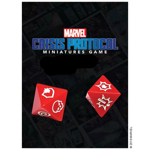 Marvel: Crisis Protocol - Loose Dice (10) from the core set