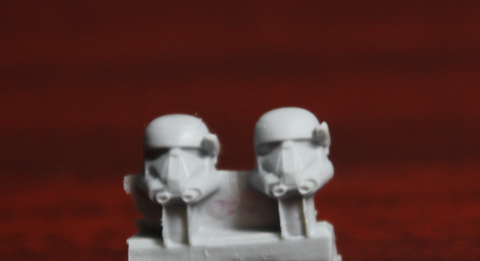 Death Troopers - Old Style (4 Heads) - Custom Alien Heads for SW: Legion