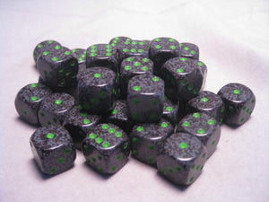 Chessex Dice Sets: Earth Speckled 12mm d6 (36)