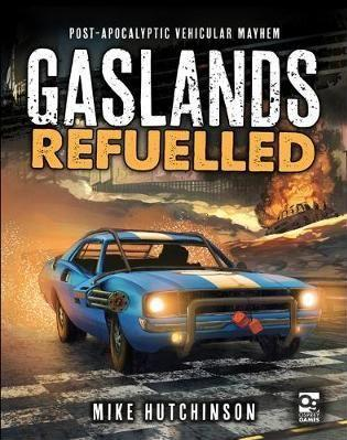 Gaslands Refuelled - Rule/Instruction Book (Hard Cover)