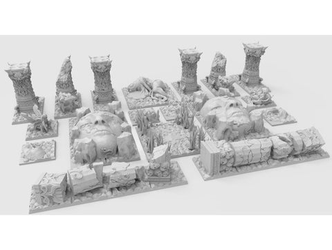 Kingdom Death Resin Terrain
