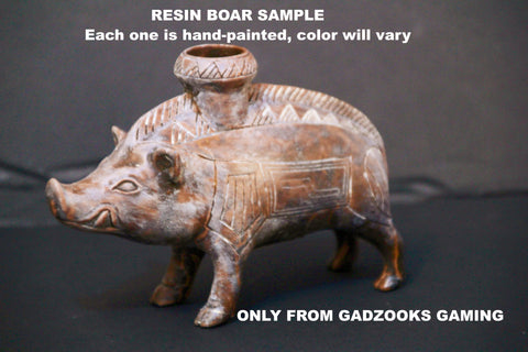 "Boar Vessel, 600-500 BC, Estruscan, ceramic"" from the Cleveland Museum of Art."