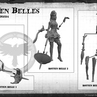 Rotten Belles (3 Malifaux Models from the Seamus Core Box M3E)